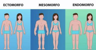 Somatotipo: Ectomorfo, Mesomorfo, Endomorfo